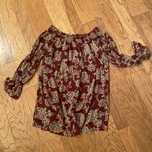 Off Shoulder Dress for Fall MED
